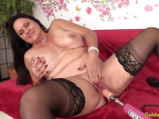 Mature Women Getting Railed by Fucking Machines Compilation 5